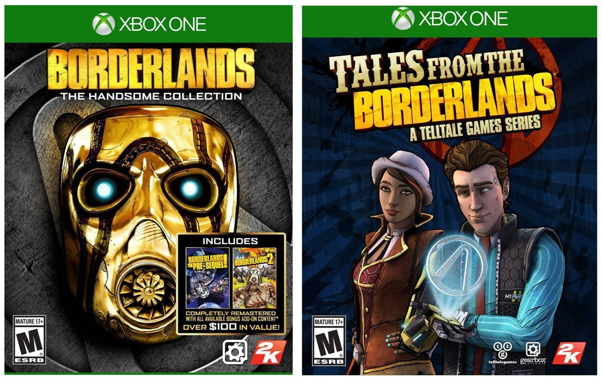 Amazon com: Borderlands: The Handsome Collection Plus Tales
