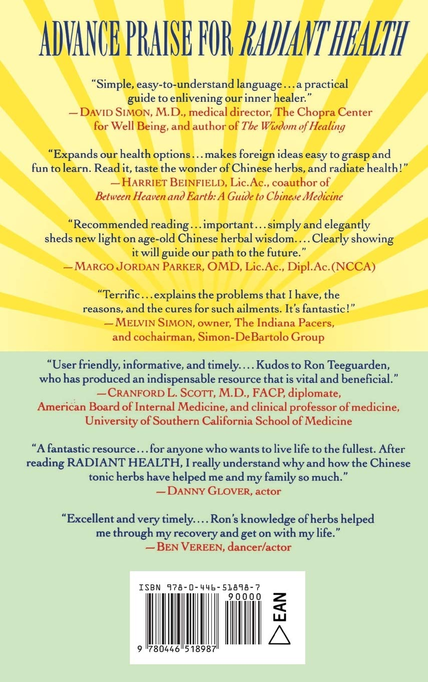 Radiant Health: The Ancient Wisdom of the Chinese Tonic Herbs ...