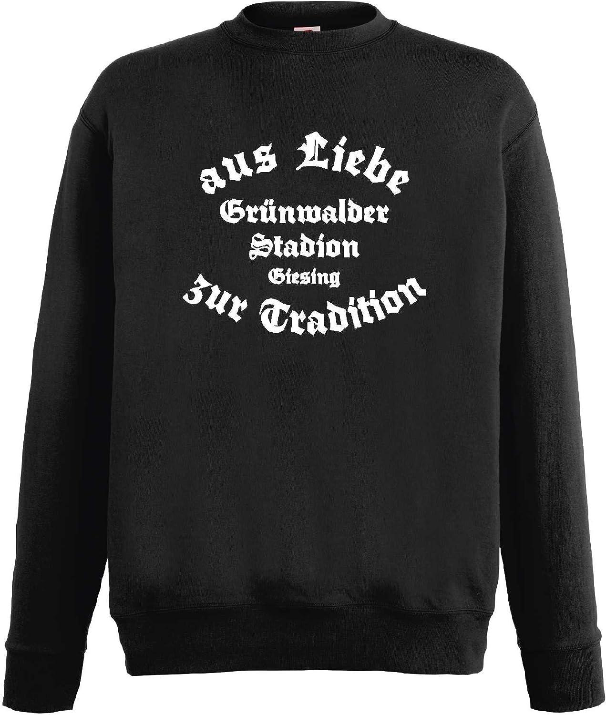 1860 Herren Sweatshirt Grünwalder Stadion Giesing