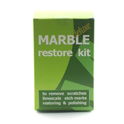Marble Restore kit Deluxe to Renew The polishing of Natural Stone Ruined by Etch Marks, Scratches or limescale; Packaging 100 gr of Powder polishing: Industrial & Scientific