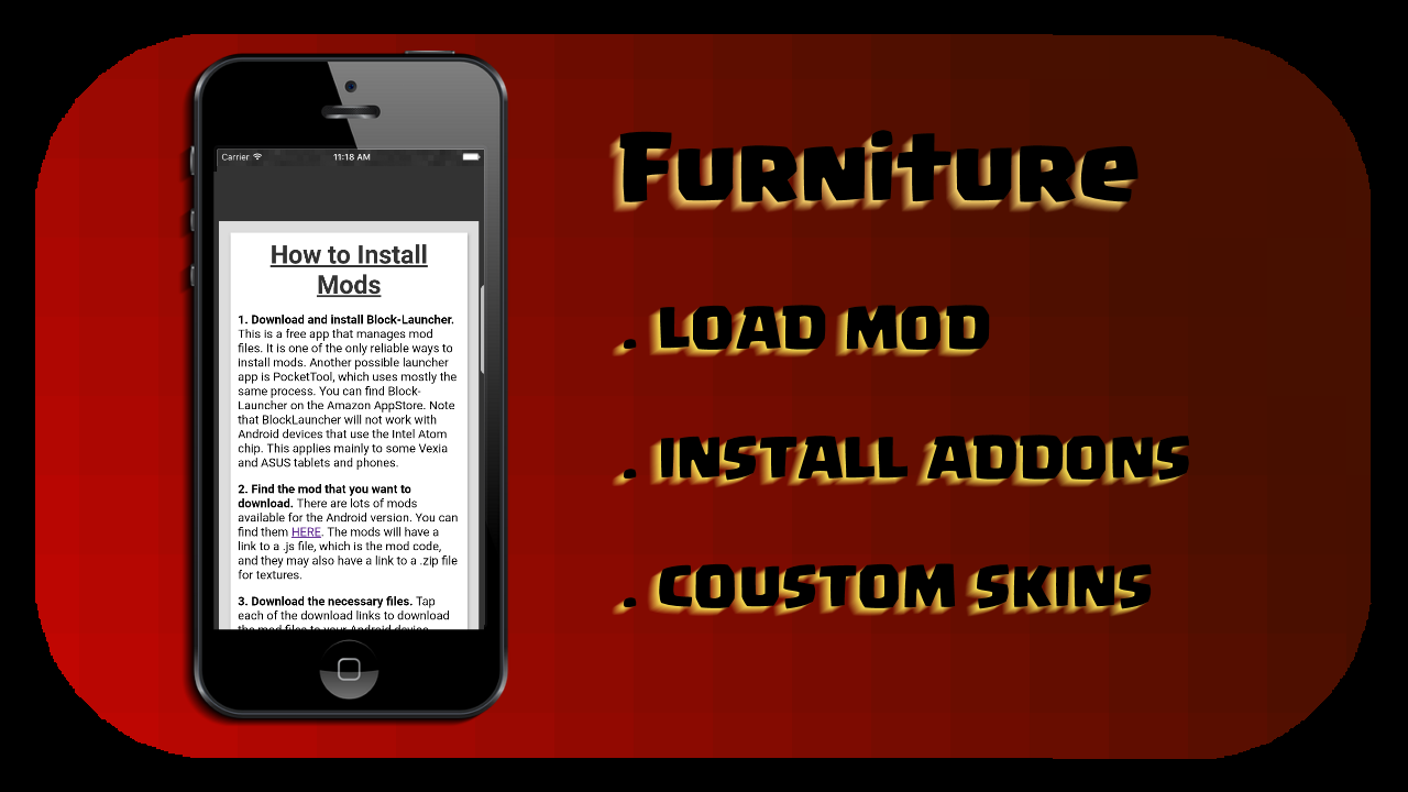 Amazon com: MODS (Furniture Pack): Appstore for Android