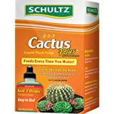 Schultz Cactus Plus 2-7-7 liquid Plant Food, 4-Ounce