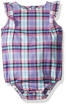 ff9f410ab64 Amazon.com  OshKosh B Gosh Baby Girls  Single Bodysuit 11517110 ...