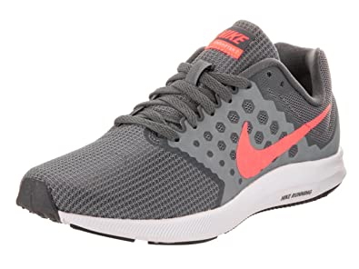 Nike Womens Downshifter 7 Cool GreyLava GlowDark Grey Running Shoe 9.5 Women US