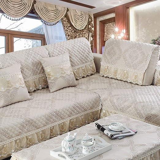 Cojín de sofá de lino IKEA tela simple y moderna ...
