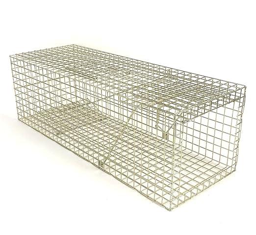 Feral Cat Trap trapman Feral estándar Cat trampa jaula civilizado ...