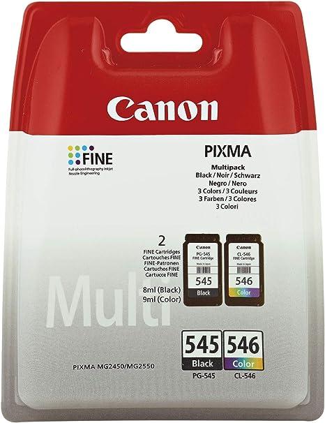 Original Printer Cartridges For Canon Pixma Ip2850 Mg2450 Mg2550 Mg2950 Mx495 Including Ballpoint Pen Black Colour Bürobedarf Schreibwaren