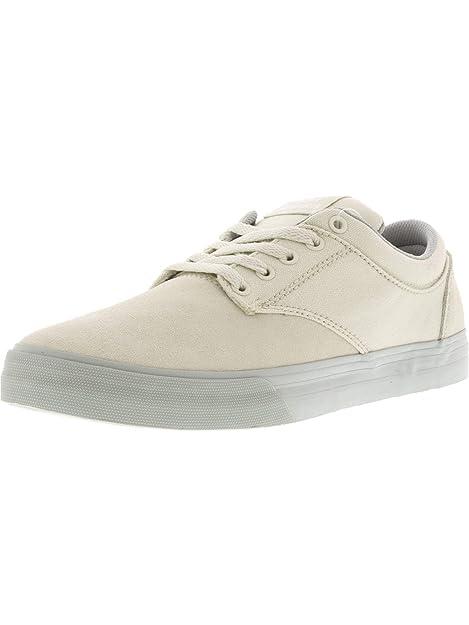 d63b0faf34c Supra - Zapatillas de Piel para Hombre Blanco White-Light Grey: Amazon.es:  Zapatos y complementos
