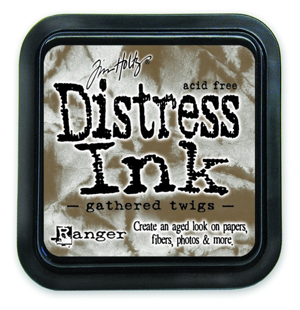 Ranger Tim Holtz Distress Ink Pads Gathered Twigs (12 Pack)