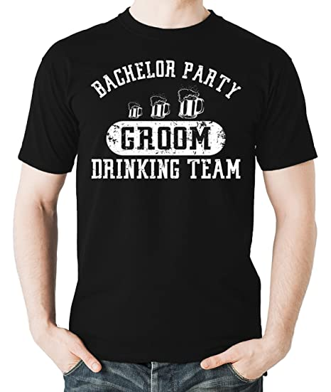 d65ea10a Witty Fashions Bachelor Party Groom Drinking Team, Wedding Eve Men's Shirt:  Amazon.ca: Clothing & Accessories