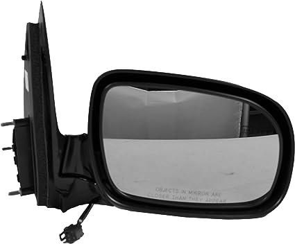 Driver Side Fits 1999-2005 PONTIAC MONTANA Door Mirror Unpainted