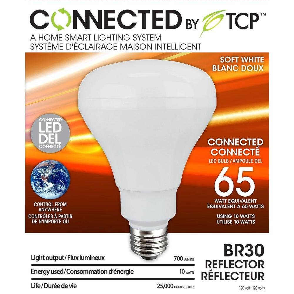 TCP LCS3LD11 Connected LED Wireless Light Bulb Kit with Gateway and ...