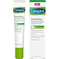 Cetaphil Hydrating Eye Gel Cream With Hyaluronic Acid Brighten & Smooth Under-Eye Area