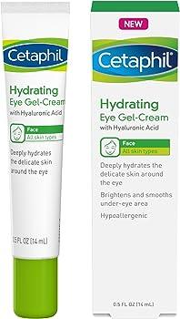 Cetaphil Hydrating Eye Gel Cream With Hyaluronic Acid