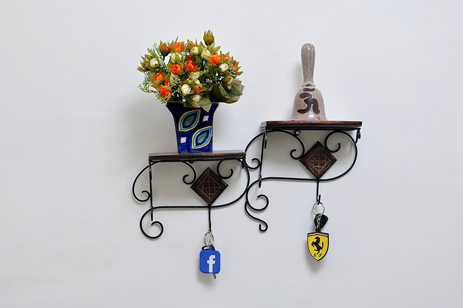 Buy Itos365 Handmade Wooden Antique Hand Carved Flower Vase For Living Room Decoration Ideas Home Decorative Items Brown Online At Low Prices In India Amazon In