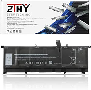 ZTHY 6Cell 8N0T7 Laptop Battery for Dell XPS 15 9575 P73F001 XPS 15-9575-D2801TS D1805TS D2605TS D1605TS Precision 5530 2-in-1 Mobile Workstation Series Notebook TMFYT 0TMFYT 08N0T7 75Wh 11.4V