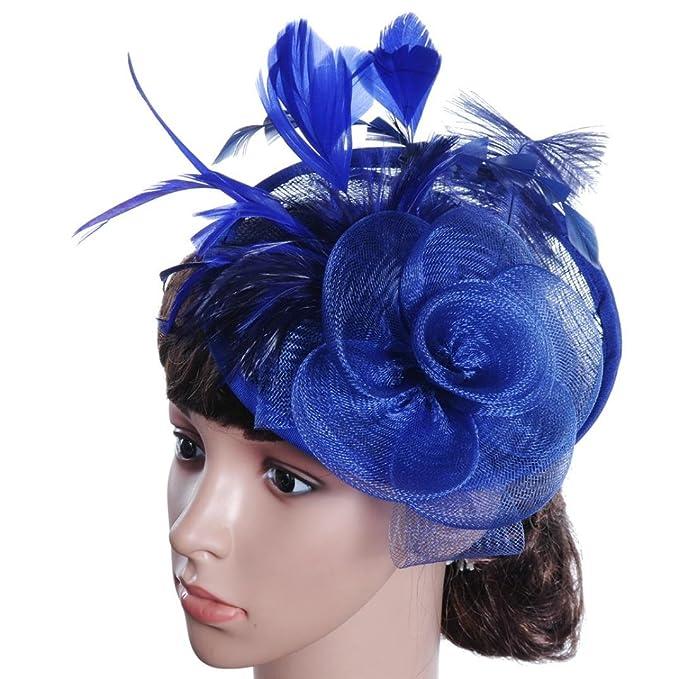 Wokee Mode Frauen Fascinator Party Stirnband Kentucky Derby Hochzeit ...
