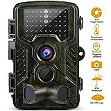 Cámara de Caza 16MP 1080P HD Trail Cámara con Visión Nocturna de PIR Infrarrojo Sensor de Movimiento 2.4 '' LCD 120 ° Gran Angular y  46pcs IR LEDS  Vigilancia Salvajes de Cazar y Uso al Aire Libres