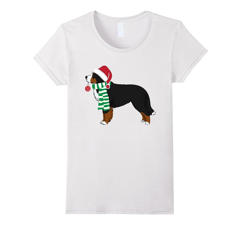 Bernese Mountain Dog Christmas Dog T-Shirt Xmas T-shirt