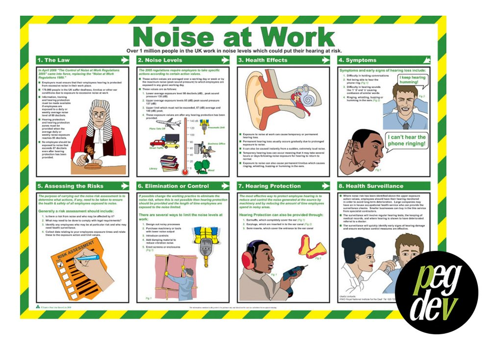 WORKPLACE FIRST AID GUIDE FIRST AID LAMINATED HEALTH /& SAFETY POSTERS A2 LANDSCAPE DURABLE HAZARD SIGN