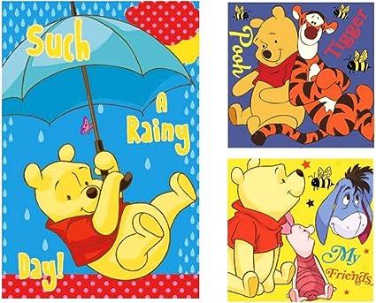 asciugamano con Winnie the Pooh 40 x 60 cm Disney