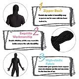 Timein Full Body Spandex Suit, Men/Women Zentai