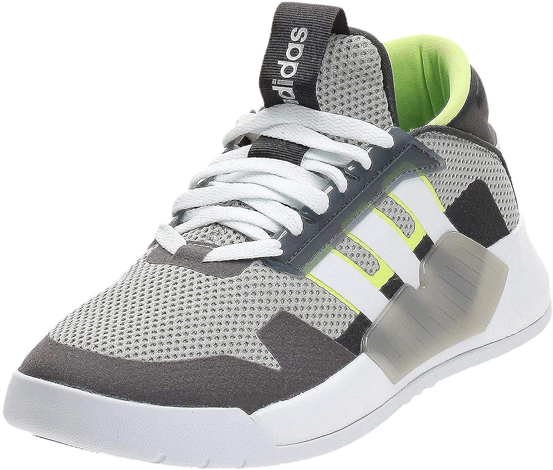 salto Egomanía grupo  Buy Adidas Men's Bball90s Grey Green Basketball Shoes-6 UK (39 1/3 EU)  (EF0606) at Amazon.in