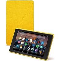 Amazon - Custodia originale per Fire HD 8 (tablet 8'', 7ᵃ e 8ᵃ generazione, modelli 2017 e 2018), Giallo
