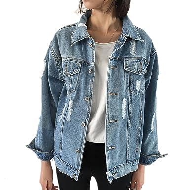 Women Jackets, Lananas Autumn Winter Oversize Scuffed ...