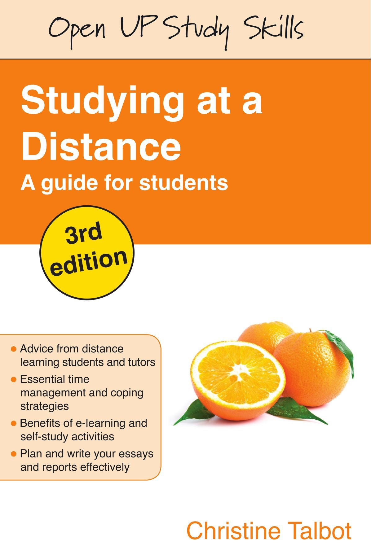 studying at a distance a guide for students open up study skills studying at a distance a guide for students open up study skills co uk christine talbot books