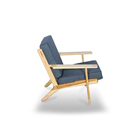 Amazon.com: Hans Wegner style Plank Sillón, Loveseat – Lana ...