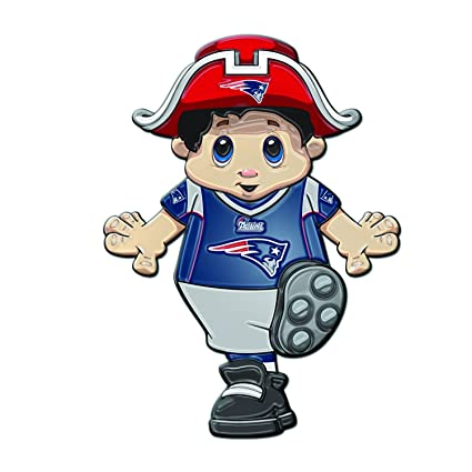 Image Unavailable. Image not available for. Color  New England Patriots  Mascot Cling c9e6a273d37c