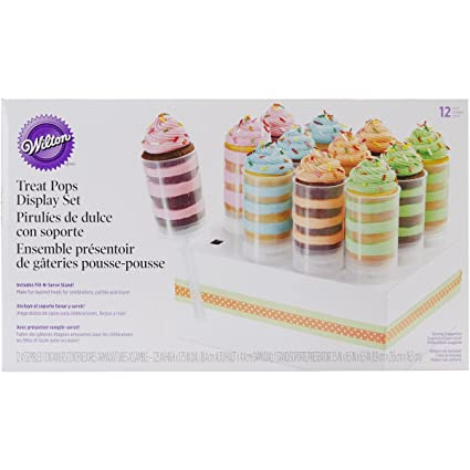 Push Up Pop Cake Shooters Party New Wilton Treat Pops 4 Pack