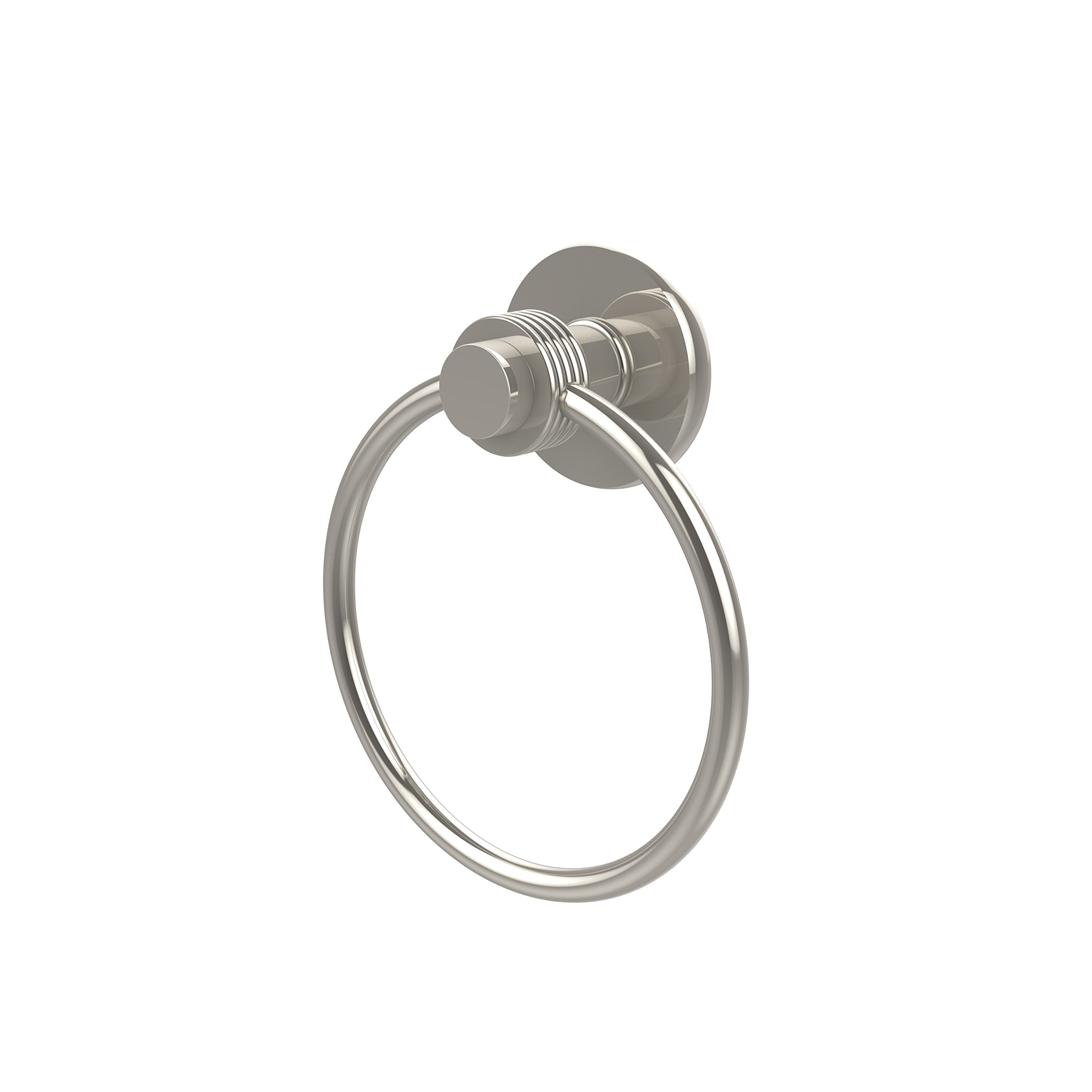 Allied Brass 916G-PNI Towel Ring, Polished Nickel