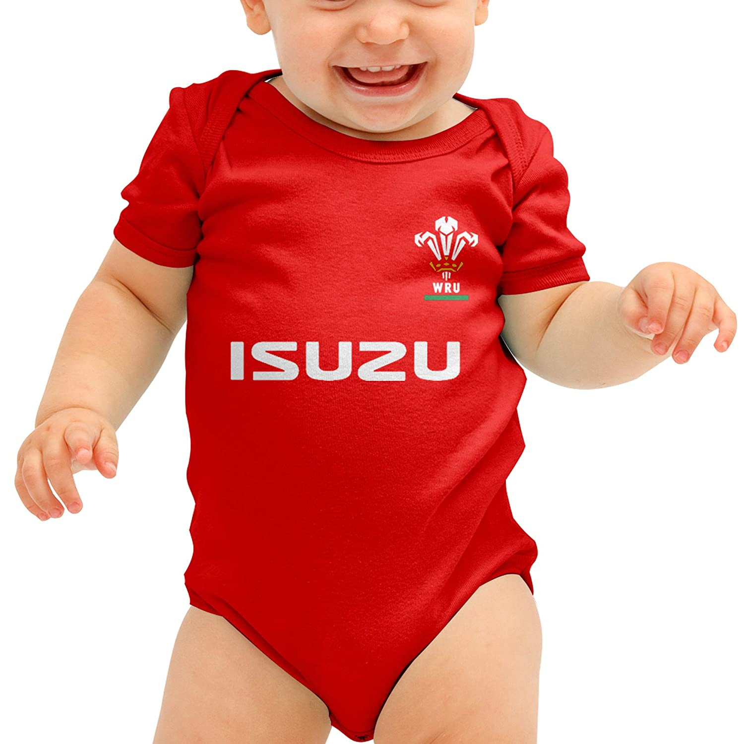 Home and Away Kits Wales Rugby Shirt Cymru Baby Grows Wales Bodysuit Babygrow Welsh Rugby Baby Grow 9-12 Months, Home and Away 2 Pack