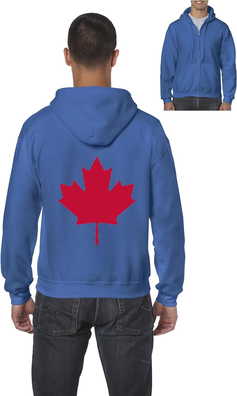 NIB Canada Hoodie Canada Maple Leaf Full-Zip Mens Hoodie