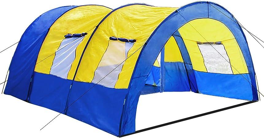 TecTake 800588 - Tienda de Campaña Daniela para 6 Personas, Tienda Túnel, Camping, Acampada - Varios Modelos (Type 1 | No. 402914): Amazon.es: Deportes y aire libre