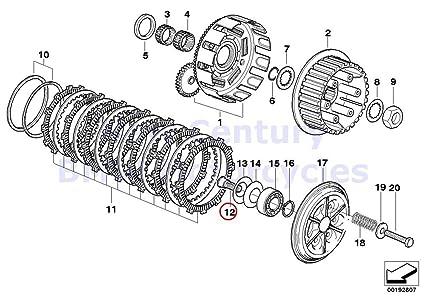 Amazon Com Bmw Genuine Motorcycle Clutch Single Parts Release