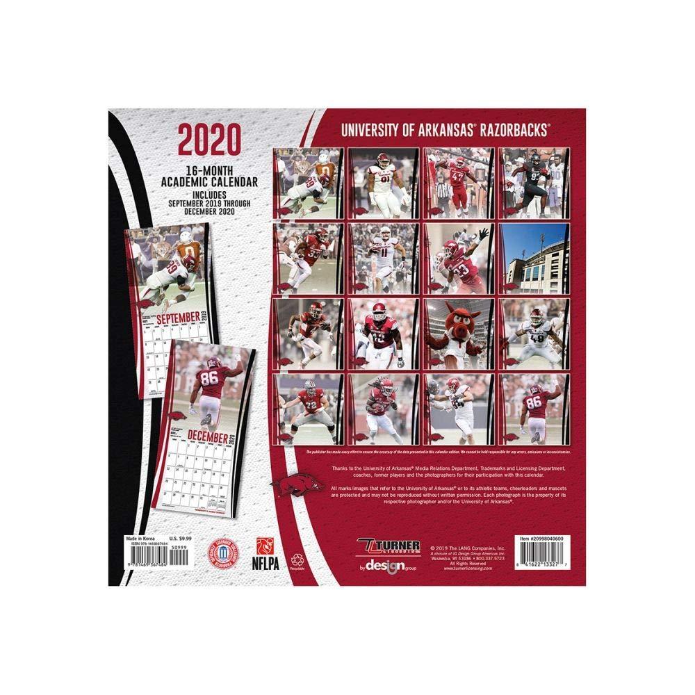 university of arkansas 2020 calendar