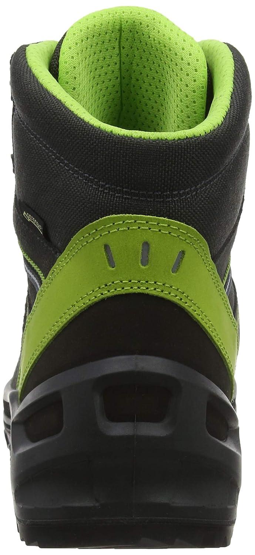 Lowa Arco GTX Mid Junior, Scarpe da da da Arrampicata Alta Unisex-Adulto, nero (Antracite Limone 9702), EU 3d51ee