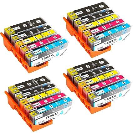 Tigtak - Cartucho de Tinta Compatible con Epson Expression Premium ...