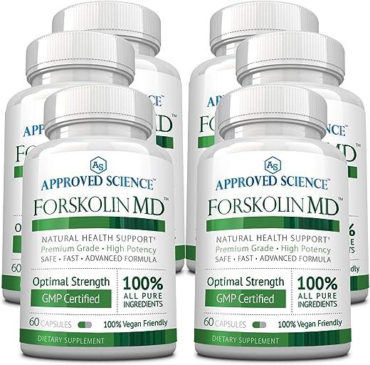 Forskolin MD -Activate & Boost Metabolism. 100% Natural Ingredients. 3 Bottles