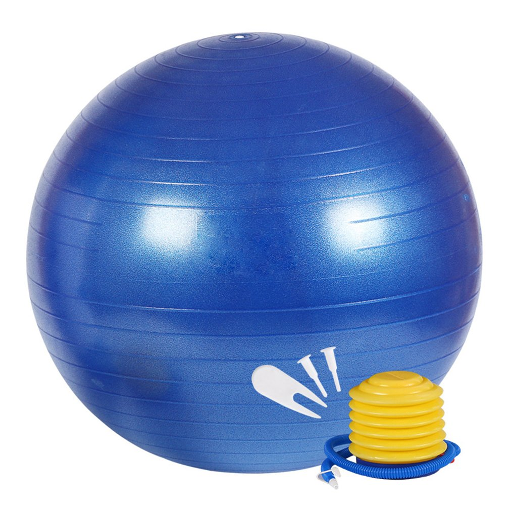 WINOMO 85cm Bola de ejercicios anti-explosión pelota suiza bola de ...