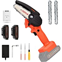 Mini Chainsaw with 2 Batteries Deals