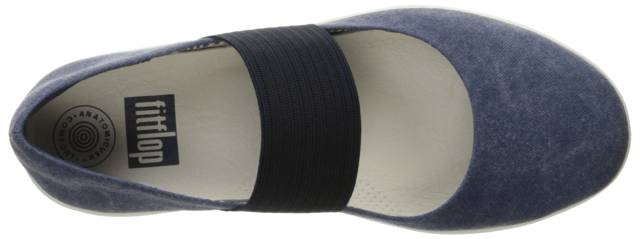 FitFlop Women's F-Sporty Mary Jane Flat, Midnight Navy, 6.5 M US by FitFlop (Image #8)