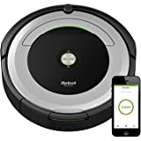 iRobot Roomba 671 Robot Vacuum with Wi-Fi Connectivity, Works with Alexa, Good for Pet Hair, Carpets, and Hard Floors Clear