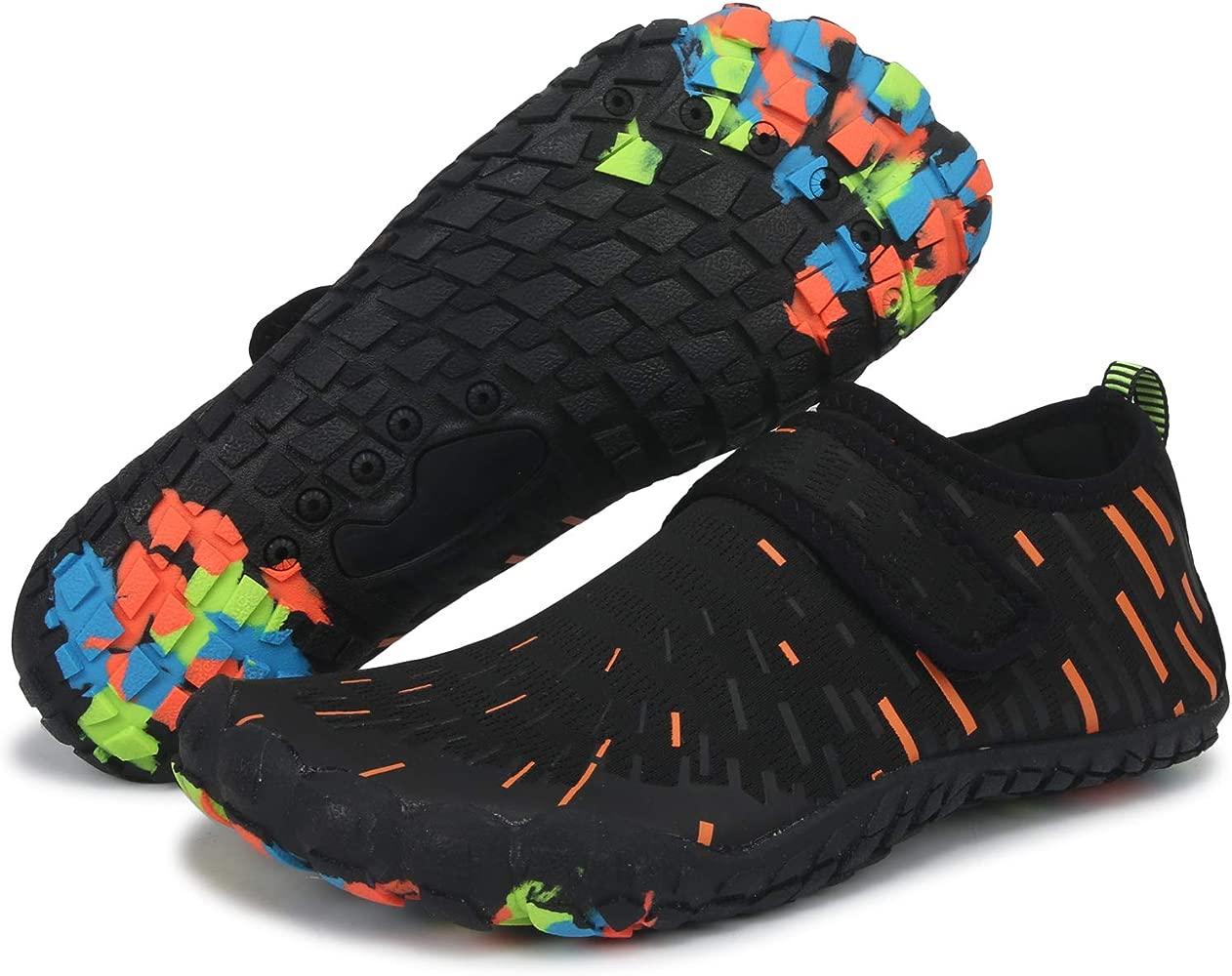 VVQI Zapatos de Agua Hombre Mujer Zapatillas Ligeros de Secado Rápido para Swim Beach Surf Yoga