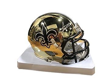 446fd510 Alvin Kamara Autographed Mini Helmet - CHROME - JSA Certified - Autographed  NFL Mini Helmets