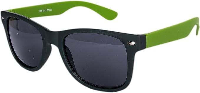 Schwarz Verspiegelt Sonnen Brille Piloten Günstig Sonnenbrille Nerdbrille Nerd
