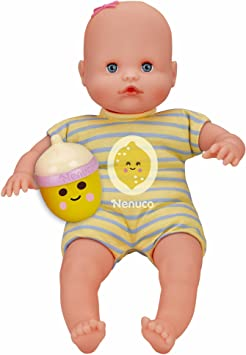 Amazon.es: Nenuco - Mi pequeño, muñeca Con Biberón Sonajero y ...